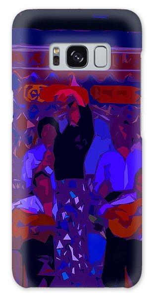 Flamenco Dancer Galaxy Case by Edgar Torres