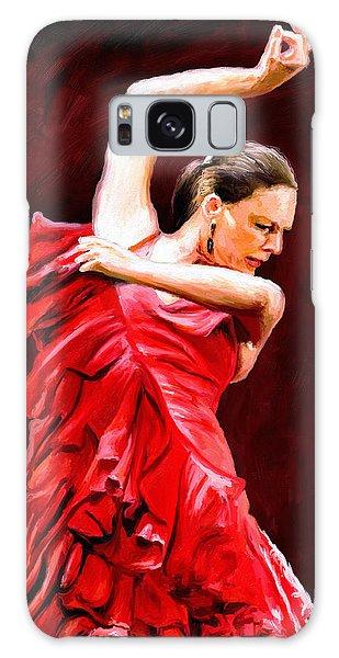 Flamenco Galaxy Case by James Shepherd