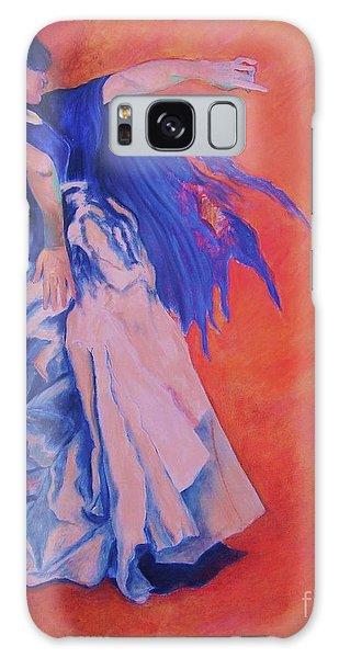 Flamenco-john Singer-sargent Galaxy Case