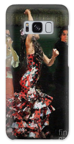 Flamenco Series No 13 Galaxy Case by Mary Machare