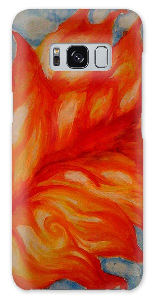Flames Galaxy Case