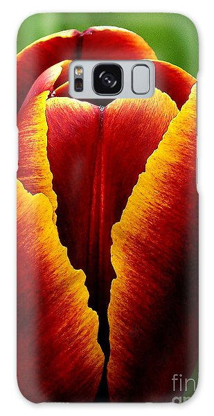 Flaming Heart Tulip Galaxy Case