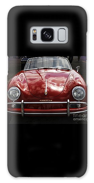 Flaming Red Porsche Galaxy Case