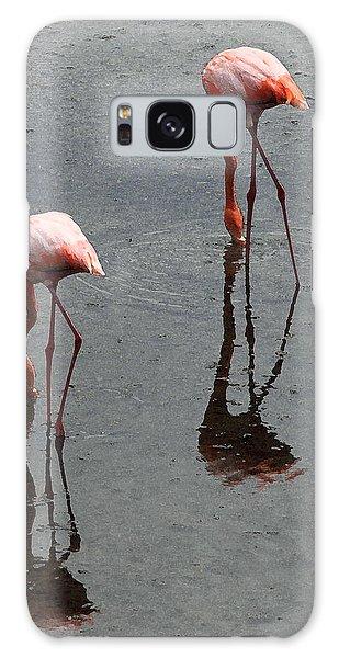 Flamingo Ballet Galaxy Case