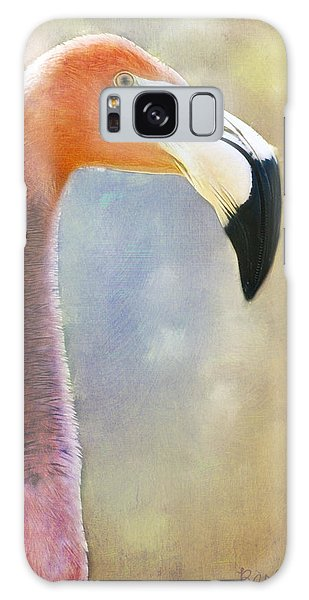 Flamingo Galaxy Case by Barbara Orenya