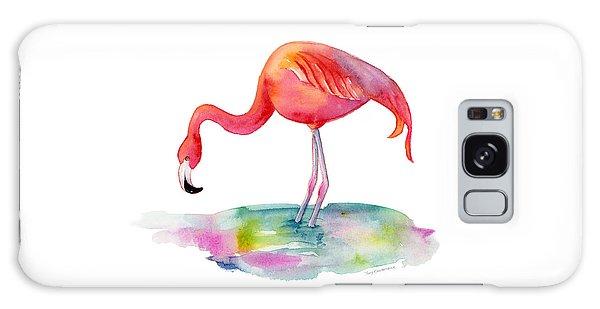 Flamingo Dip Galaxy Case