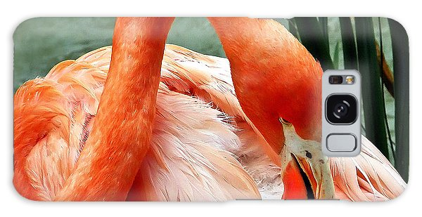 Flamingo Elegance Galaxy Case