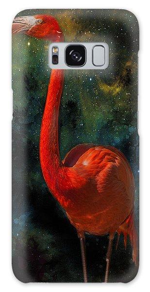 Flamingo No 1 Galaxy Case