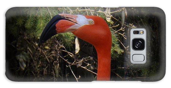 Flamingo Profile Galaxy Case