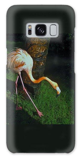 Flamingo Search Party Galaxy Case