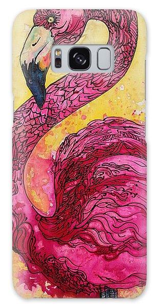 Flamingo Yo Galaxy Case