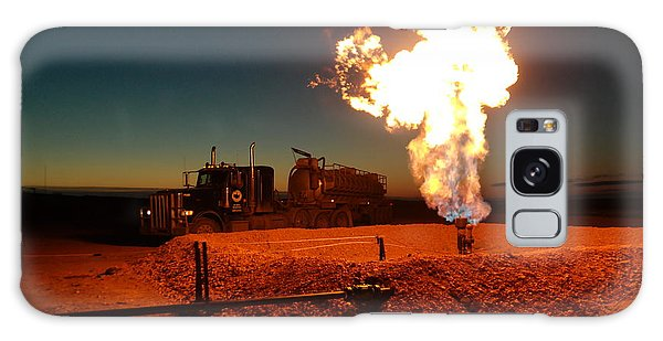 Flare And A Vacuum Truck Galaxy Case
