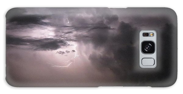 Flashes Of Lightening Galaxy Case