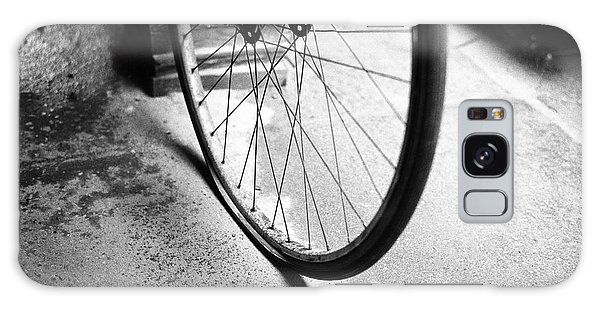 Flat Bicycle Tire Galaxy Case by Dave Beckerman