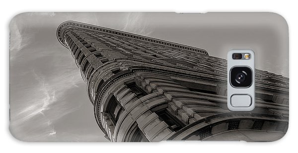 Flat Iron Building Galaxy Case by Angela DeFrias