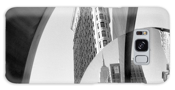 Flat Iron Building Empire State Mirror Galaxy Case by Dave Beckerman