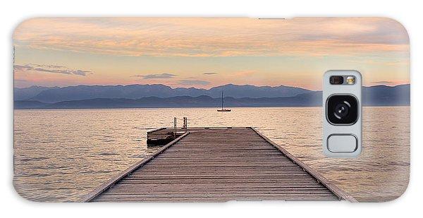 Flathead Lake Sunset Galaxy Case