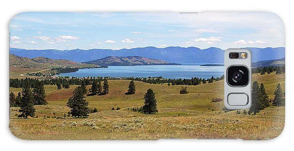 Flathead Lake View Galaxy Case by Daniel Woodrum
