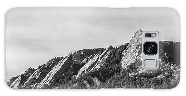 Flatirons B W Galaxy Case