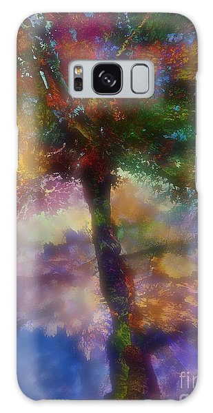 Flavours Of Autumn Galaxy Case by Klara Acel