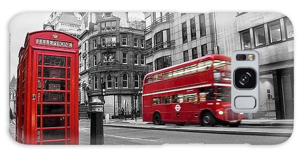Big Ben Galaxy S8 Case - Fleet Street London by Delphimages Photo Creations