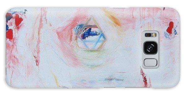 Flesh Of My Heart Galaxy Case by Phoenix De Vries