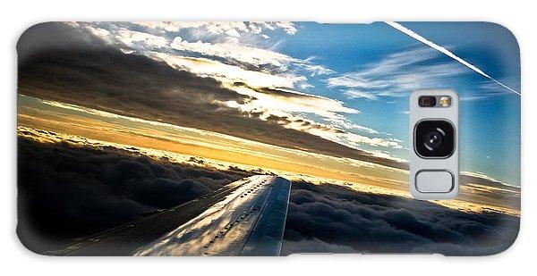 Flight 777 Galaxy Case by Joel Loftus
