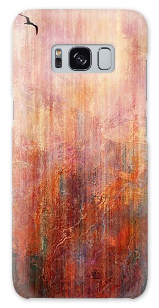 Flight Home - Abstract Art Galaxy Case