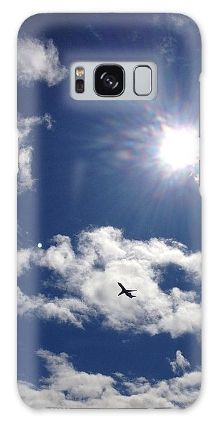 Flight In The Clouds Galaxy Case by Nikki McInnes
