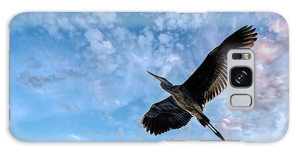 Flight Of The Heron Galaxy Case by Bob Orsillo