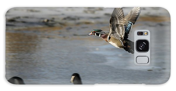 Flight Of The Wood Duck Galaxy Case