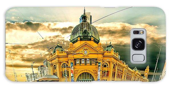 Cart Galaxy Case - Flinders St Station by Az Jackson