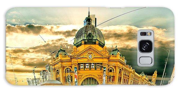 Flinders St Station Galaxy Case