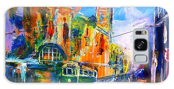 Flinders Street - Original Sold Galaxy Case by Therese Alcorn