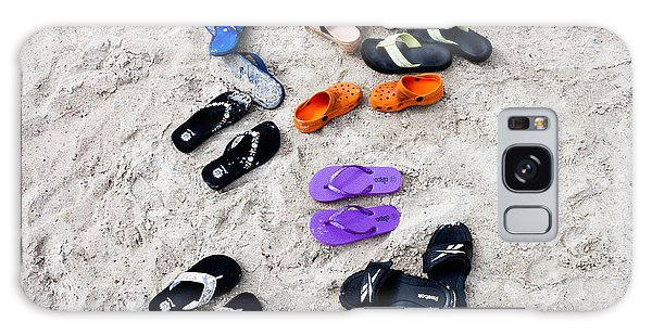 Flip Flops On The Beach Galaxy Case