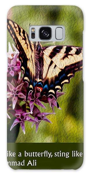 Float Like A Butterfly Galaxy Case