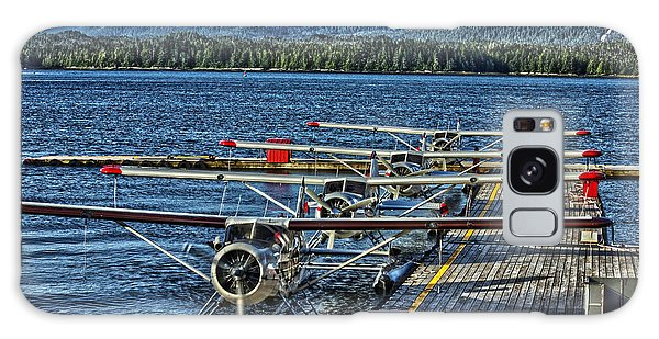 Float Plane Dock Galaxy Case