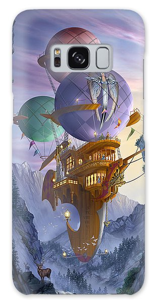 Hot Air Balloons Galaxy Case - Floatilla by MGL Meiklejohn Graphics Licensing