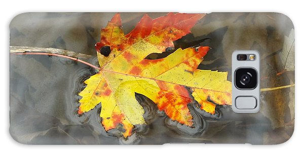 Floating Autumn Leaf Galaxy Case