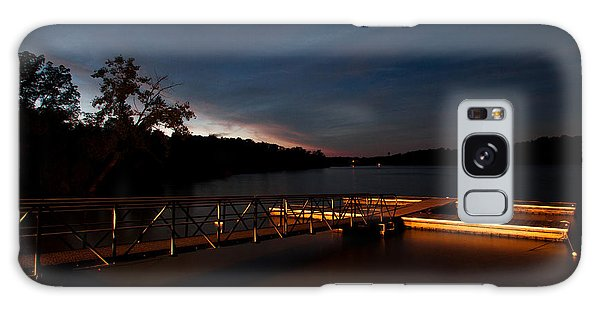 Floating Dock At Deer Creek Galaxy Case