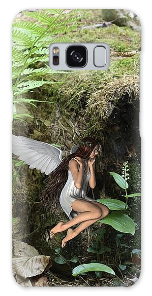 Floating Fairy In Forest Galaxy Case