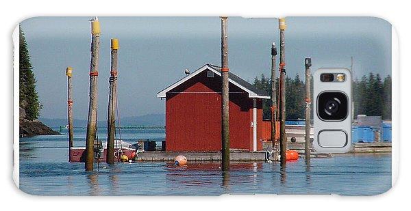 Floating Fish Shack Bay Of Fundy Nb Galaxy Case