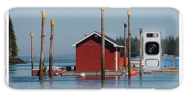 Floating Fish Shack Bay Of Fundy Nb Galaxy Case