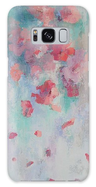 Floating Flowers Painting Galaxy Case