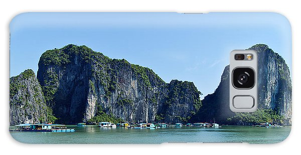 Floating Village Ha Long Bay Galaxy Case