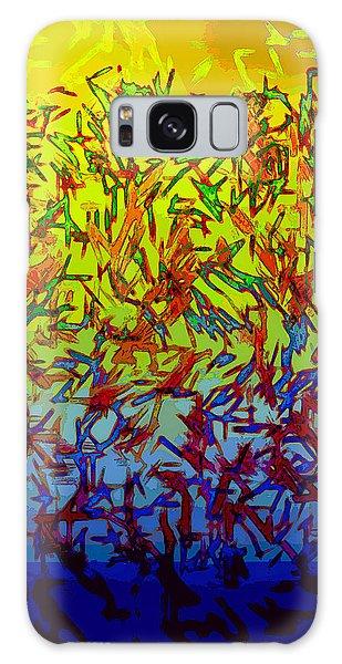 Flock Galaxy Case by Matt Lindley
