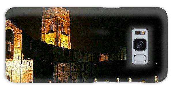 Floodlit Fountains Abbey Galaxy Case