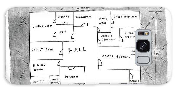 Floor Plan Of Studio Apartment R-b Galaxy Case