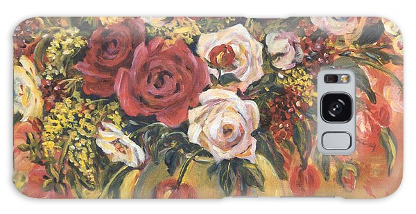 Floral Arrangement Galaxy Case by Alexandra Maria Ethlyn Cheshire