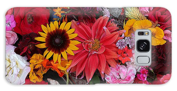 Floral Bounty 2 Galaxy Case by Jeanette French